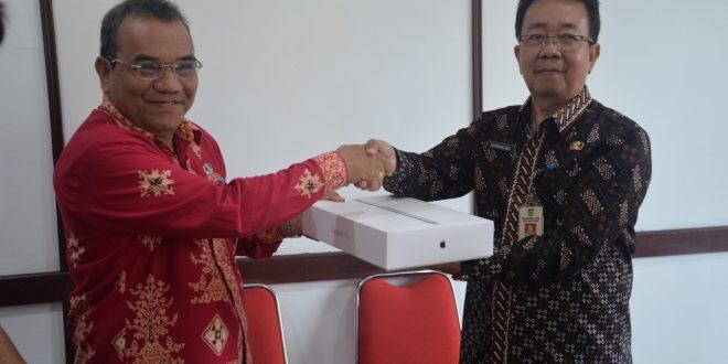 Sertijab Kepala Dinas Komunikasi Informatika Statistik dan Persandian Kota Palangka Raya